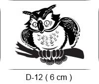Baha Deri - Desen - Motif - Baykuş