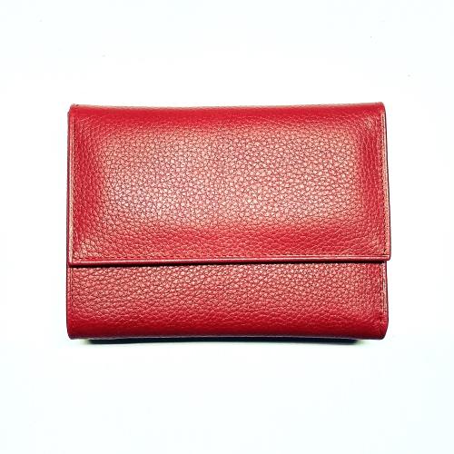 Deri Bayan Cüzdanı 6606-5 Kırmızı