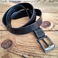 Kemer - Sade - 4.5 cm - Siyah
