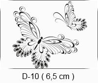 Baha Deri - Desen - Motif - Kelebekler