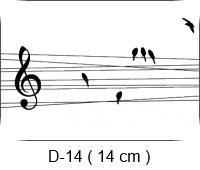 Baha Deri - Desen - Motif 14 - Müzik