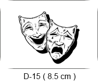 Baha Deri - Desen - Motif - Maske